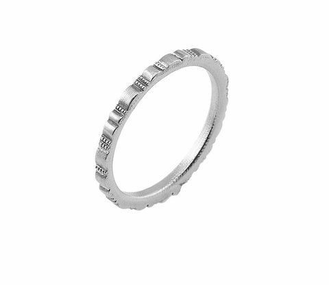 r-213P ridges band alex sepkus unisex ring