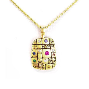pathway pendant alex sepkus r74 rainbow color michaels custom jewelers on cape cod provincetown