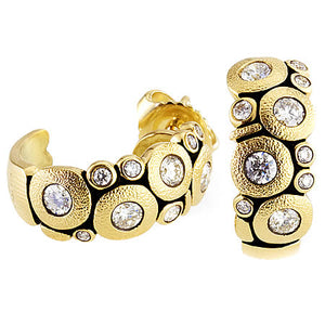 alex sepkus candy earrings e122 18k gold diamond earring
