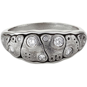 anna ring alex sepkus R-203PD platinum diamond dome ring anna