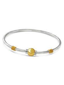 cape cod beachball bracelet with nautical rope 14k gold sterling silver made on cape cod