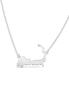 Cape Cod Map Necklace