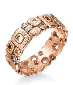 little windows alex sepkus r118 18k rose gold diamond band