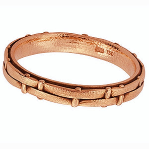 Fence alex sepkus band r-88r 18k rose gold