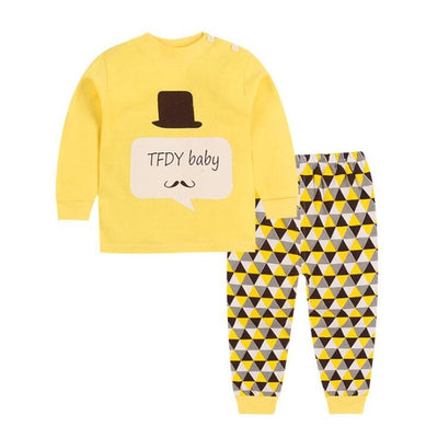 a9285d6659cf2 Cotton Baby Girls Clothes Winter Newborn Baby Clothes Set 2PCS CartoonBbaby  Boy Clothes Unisex Kids Clothing