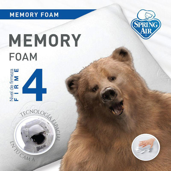 Almohada Pleasure Memory Foam Spring Air