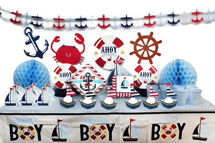 Nautical Themed Baby Shower Kit