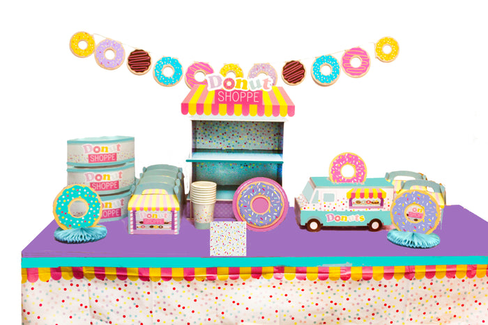 donut party, donut party kit, donut grow up party, donut stand, donut birthday party decorations