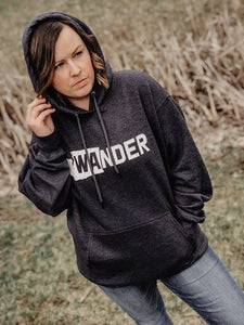 WAnder, Port & Company, unisex, outdoorsy, pullover hoodie