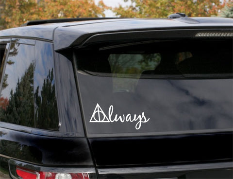 Always, Harry Potter, 5 inch, nerdy, vinyl decal