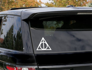 Deathly Hallows, Harry Potter, 5 inch, nerdy, vinyl decal