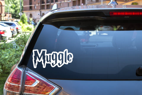 Muggle, Harry Potter, 5 inch, nerdy, vinyl decal