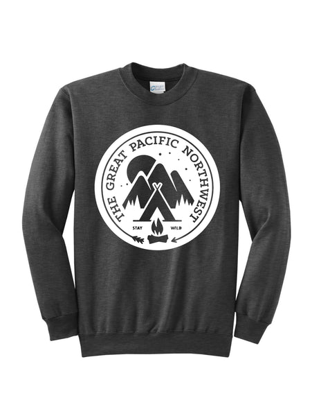 The Great Pacific Northwest, Port & Company, unisex, outdoorsy, sweater