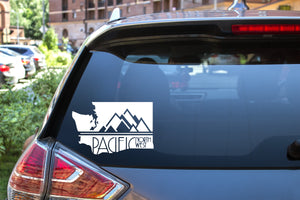 PNW Washington, 5 inch, outdoor, vinyl decal