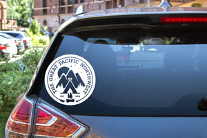 The Great Pacific Northwest , 5 inch, outdoor, vinyl decal