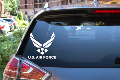 U.S. Air Force, 5 inch, military, vinyl decal