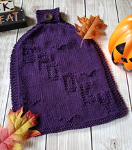 Load image into Gallery viewer, Halloween Dishcloth Pack - PDF Knit Patterns