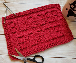 Bugger Boris Dishcloth