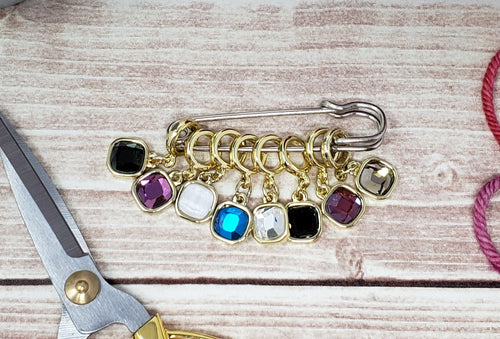 Gold Snag Free Stitch Markers