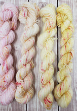 Load image into Gallery viewer, Pink Lemonade Mini Skein Set - Sock/Fingering Weight - Hand Dyed Yarn