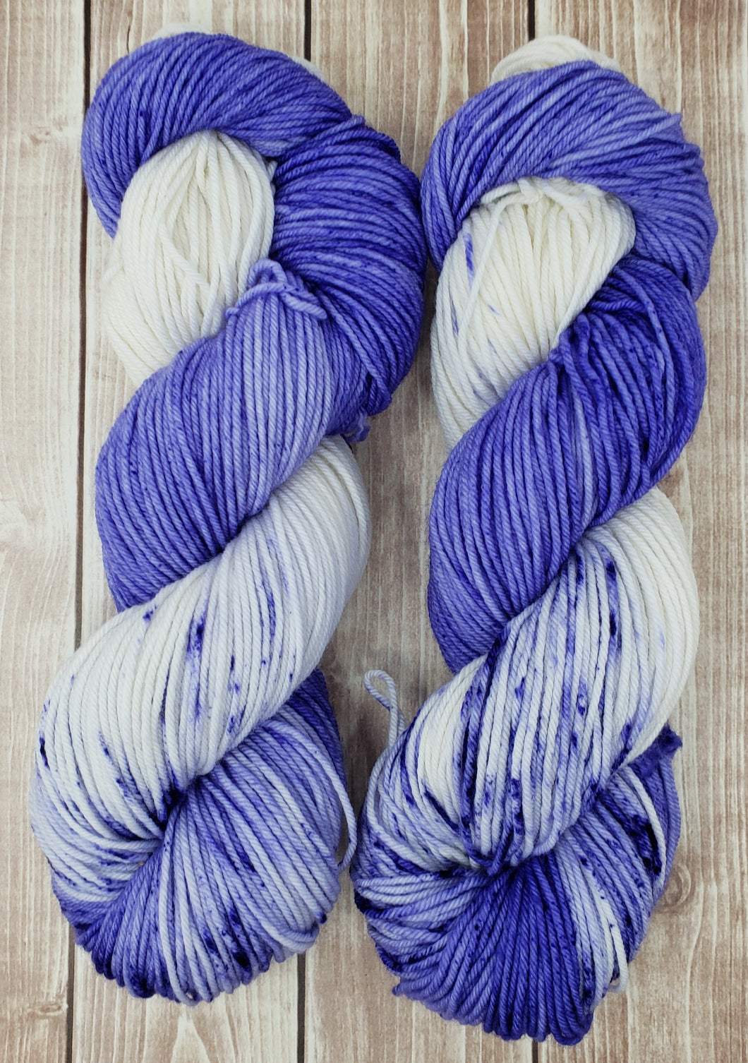 Purple Passion - Sock/Fingering - DK Weight - Sport Weight - Hand Dyed Yarn