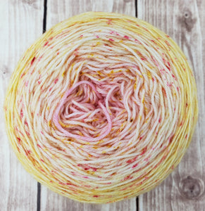 Pink Lemonade - Sock/Fingering Weight - DK Weight - Hand Dyed Yarn