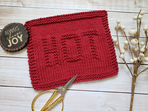 Hot Dishcloth