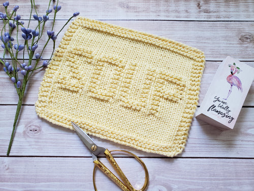 Soup Dishcloth