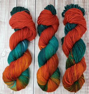 Jewell - Sock/Fingering - DK Weight - Bulky - Super Bulky - Hand Dyed Yarn