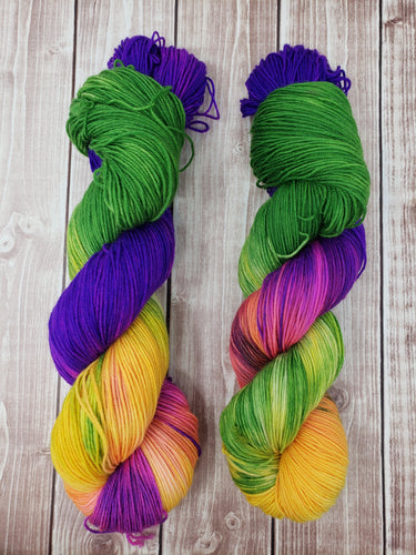 Carribean Summer - Sock/Fingering - DK Weight - Bulky - Super Bulky - Hand Dyed Yarn