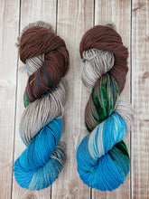 Load image into Gallery viewer, Cabin by the Lake - Sock/Fingering  - DK Weight - Hand Dyed Yarn