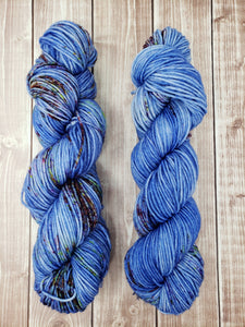 Loneliness - Fingering - Bamboo Sock - DK Weight - Bulky- Super Bulky Hand Dyed Yarn