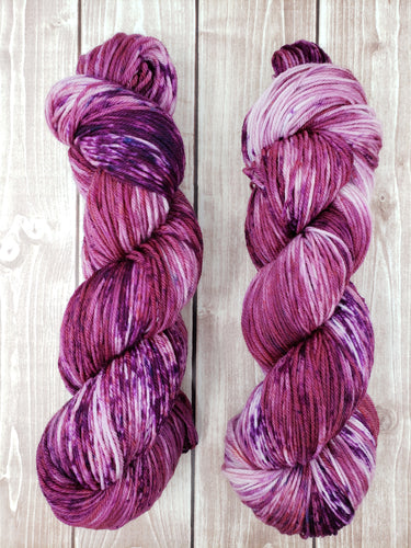 Mixed Berries - Sock/Fingering - DK Weight - Bulky - Super Bulky - Hand Dyed Yarn