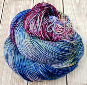 Exploration - Sock/Fingering - DK Weight - Worsted - Bulky - Super Bulky - Hand Dyed Yarn