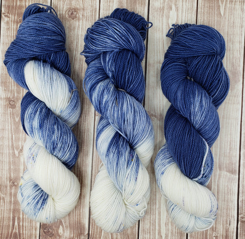 My Favorite Jeans - Sock/Fingering - DK Weight - Bulky - Super Bulky - Hand Dyed Yarn