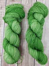 Load image into Gallery viewer, Sour Apple - Sock/Fingering - DK Weight - Hand Dyed Yarn