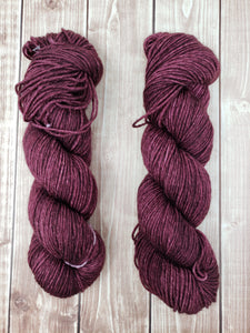 Cabernet - Sock/Fingering - DK Weight - Hand Dyed Yarn