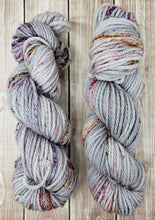 Load image into Gallery viewer, Campfire Ashes - Sock/Fingering - DK Weight - Bulky - Super Bulky - Hand Dyed Yarn