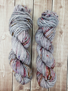 Campfire Ashes - Sock/Fingering - DK Weight - Bulky - Super Bulky - Hand Dyed Yarn