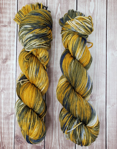Lichen - Sock/Fingering - DK Weight - Worsted - Hand Dyed Yarn