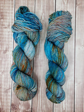 Load image into Gallery viewer, Mountain Bluebird - Sock/Fingering - DK Weight - Bulky - Super Bulky - Hand Dyed Yarn
