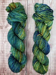 Since You're Gone - Sock/Fingering - DK Weight - Worsted -  Bulky - Super Bulky - Hand Dyed Yarn