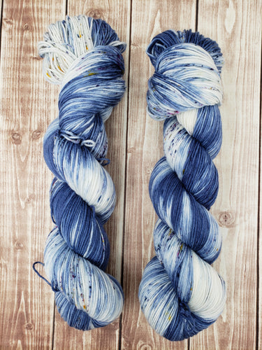 Stay the Night - Sock/Fingering - DK Weight - Worsted -  Bulky - Hand Dyed Yarn