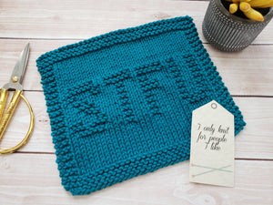 STFU Dishcloth