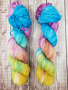 Better Than Prozac - Sock/Fingering - DK Weight - Hand Dyed Yarn