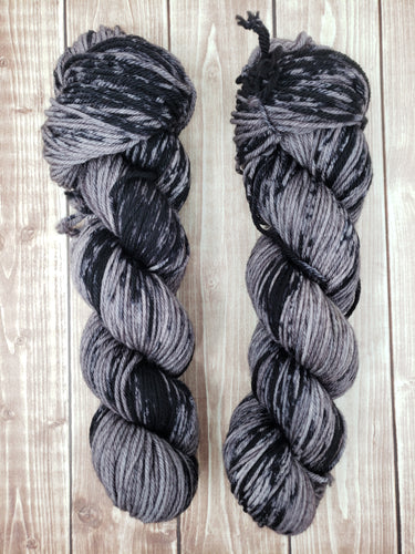Dirty Old Man - Worsted - Bulky - Hand Dyed Yarn