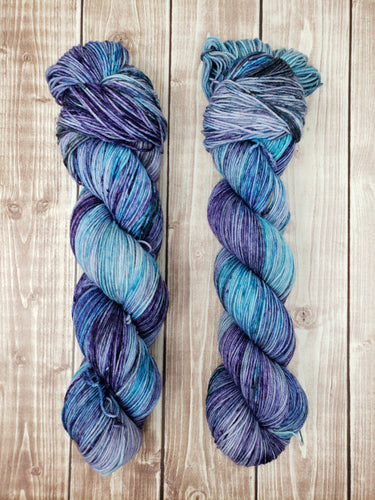 Frostbite - Sock/Fingering - DK Weight - Worsted -  Bulky - Super Bulky - Hand Dyed Yarn