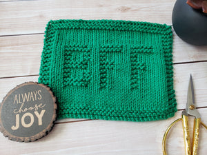 BFF Dishcloth