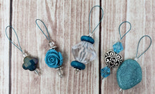 Load image into Gallery viewer, Turquoise Stitch Marker Set