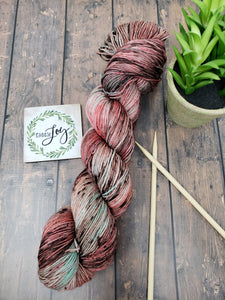 Thoughtful - Sock/Fingering - DK Weight - Hand Dyed Yarn